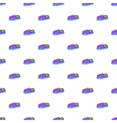 Children bumper machine pattern cartoon style vector