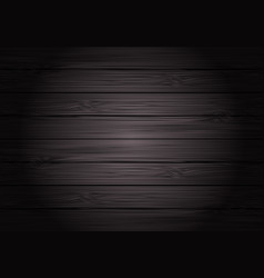 Dark gray wood texture pattern vector