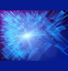 digital futuristic technology concept background vector image