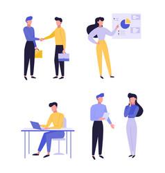 professional entrepreneurship flat vector image