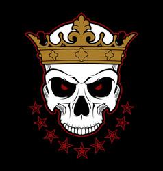 dead monarch vector image