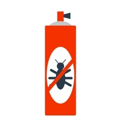 Toxic medicine poison spray and dangerous bottle vector image