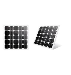 solar cell vector image