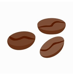 Coffee beans icon isometric 3d style vector image