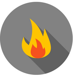 fire vector image