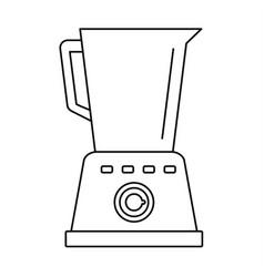kitchen blender icon outline style vector image