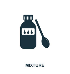 mixture icon line style icon design ui vector image