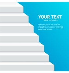Stairs Step Banner vector
