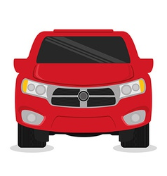 Vehicle design vector image