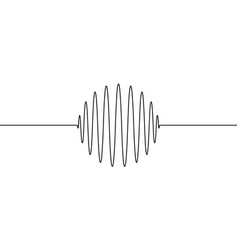 Wave forms amplitude round ring sphere vector
