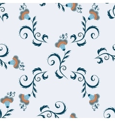Seamless indian simple pattern with vector image vector image