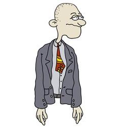 funny man vector image