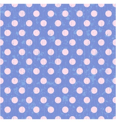 seamless circle dots background vector image vector image