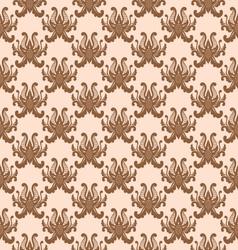 Balinese Flower Pattern vector image