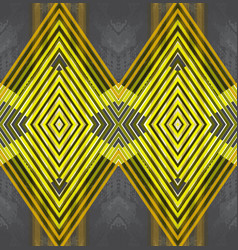 geometric seamless pattern for vector image vector image