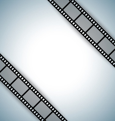 film strip document template vector image