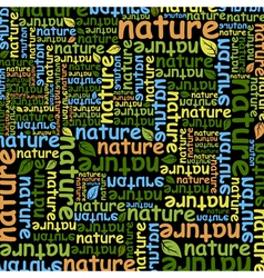 Nature vector image vector image