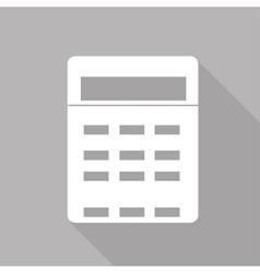 Calculator web icon vector