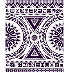 Ethnic african ornament vector