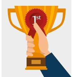 first place design vector image