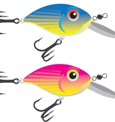 fishing bait vector image
