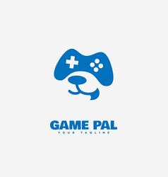 Game pal logo vector