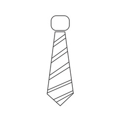 necktie icon sign design vector image