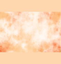 orange sand watercolor grunge brush stroke vector image