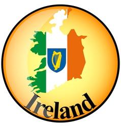 button Ireland vector image