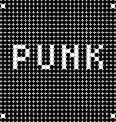 Punk dots vector