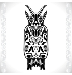 a mountain goat vector image vector image