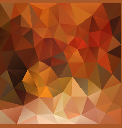 abstract polygonal square background autumn vector image