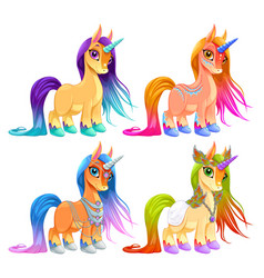 Baunicorns for luck protection and inspiration vector
