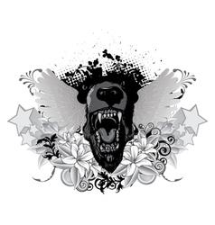 Grunge vintage emblem vector