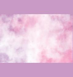 pink purple watercolor grunge brush stroke vector image