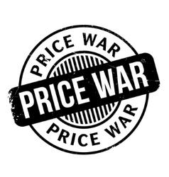 Price War rubber stamp vector