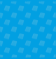 retro studio equalizer pattern seamless vector image