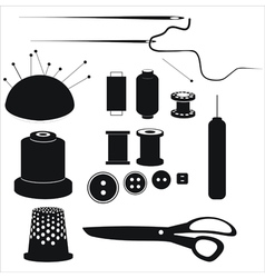 sewing equipment vector image