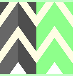 The pattern with gray and light green lines vector