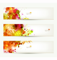 Three headers vector