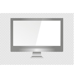 a blank lcd screen plasma displays or tv to your vector image