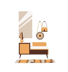 cute interior a cozy room vector image