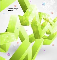 Ice Christmas Design vector