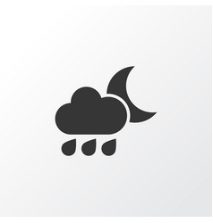 Rainy icon symbol premium quality isolated vector