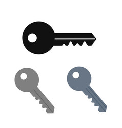 set of key icon image design vector image