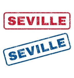 Seville Rubber Stamps vector