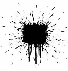 Splatter element vector