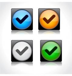 website GUI design vector image