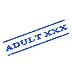 Adult XXX Watermark Stamp vector image