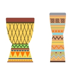 African drums vector